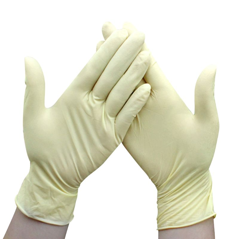 10 Pairs Industrial Medical Disposable Gloves Latex Free Non Sterile Mittens U90E