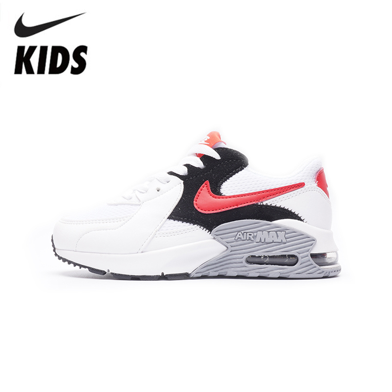 Nike Air Max 90 New Arrival Kids Shoes Original Sports Kids Running Shoes Lightweight Comfortable Children Shoes #CD4165