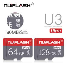 Karta pamięci 32GB 16GB 8 GB 128 GB 64GB karta Microsd C10 Micro TF karta SD 8 16 32 64 128 GB karta Cartao De Memoria Carte tanie tanio NUIFLASH Class 10 NF-TF 03 Tf micro sd card 8GB 16GB 32GB 64GB 128GB