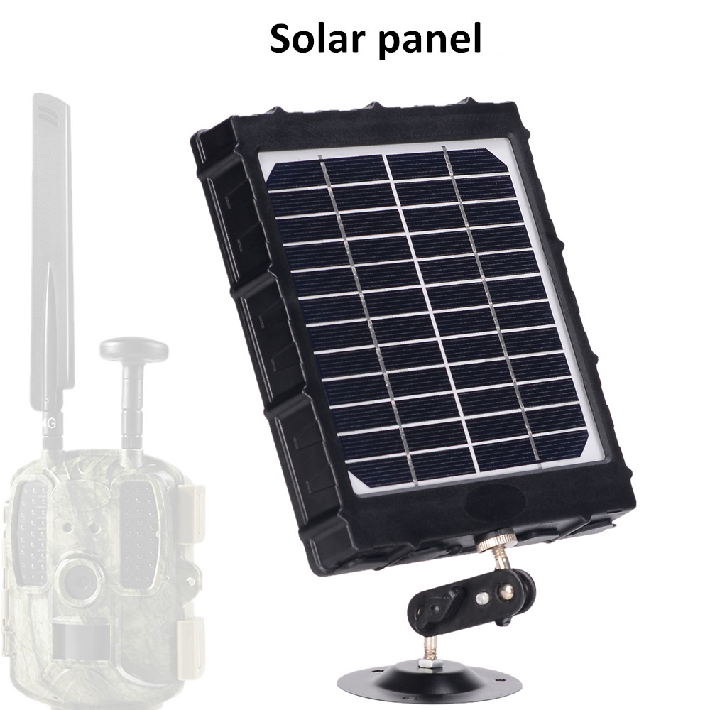 de alumínio do painel solar polímero para câmera caçador