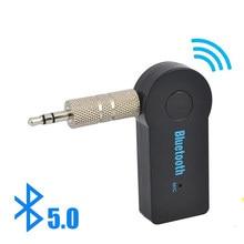 2 in 1 Wireless Bluetooth 5,0 Empfänger Sender Adapter 3,5mm Jack Für Auto Musik Audio Aux A2dp Kopfhörer Empfänger freisprecheinrichtung