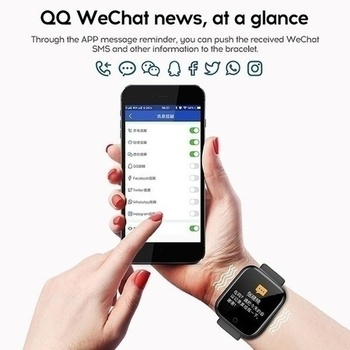 Smart Watch Men Women Smartwatch Heart Rate Blood Pressure Monitor Fitness Tracker Watch Smart Bracelet for Android and IOS 5