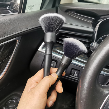 Ultra-Soft Detailing Brush Super Soft Auto Interior Detail Brush With Synthetic Bristles Car Dash Duster Brush