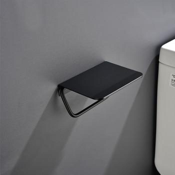 Support Papier Toilette Noir