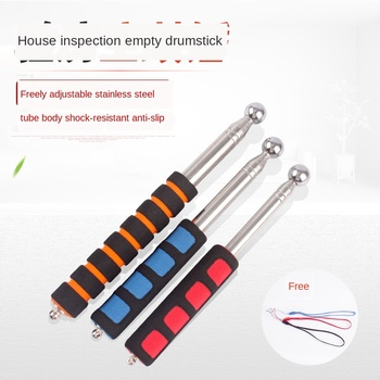 цена на Empty Drum Hammer Drum Hammer Thick Telescopic Hammer House Inspection Hammer House Rod House Inspection Tools