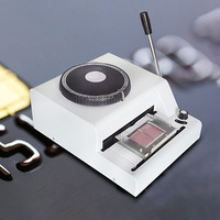 68 Character Manual Embosser Embossing Machine PVC/ID/Credit Card Stamping Machine Code Printer