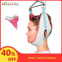 Adjustable Neck Traction Device Over Door Orthopedic Cervical Neck