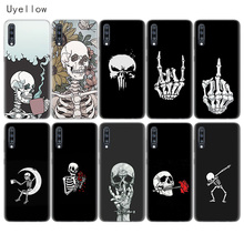 Uyellow Pirates Skull Phone Case For Samsung A10 A20 A30 A40 A50 A60 A70 A80 A20E Cover Galaxy M10 M20 M30 M40 Soft Coque