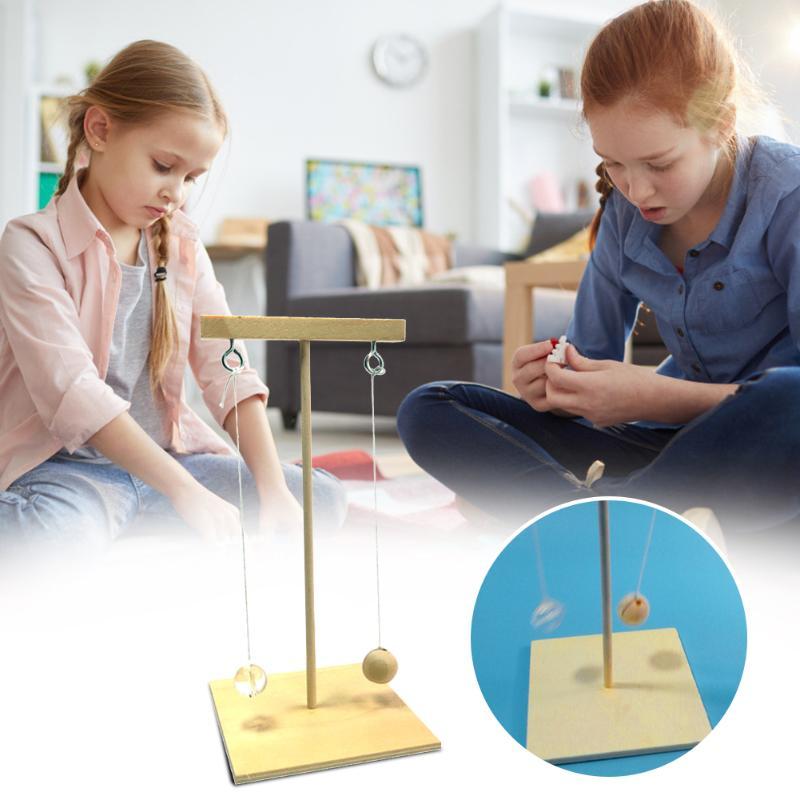 Science Exploration Spirit Toy Kids Children DIY Pendulum Model Cultivate Children Materials Kits Student Physics Scientific To
