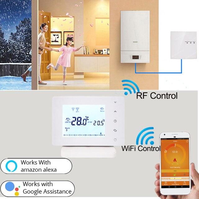 Termostato Calefacción Wifi / RF 2