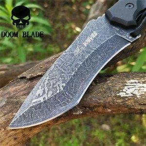 Image 4 - سكين مستقيم 8CR13MOV شفرة فولاذية ثابتة المحمولة التكتيكية أداة السكاكين جيدة للصيد التخييم بقاء في الهواء الطلق كل يوم