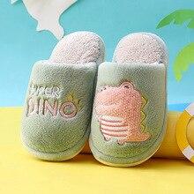 Slippers Kids Flip-Flops Indoor-Shoes Plush Girls Baby-Boy Winter New for PVC Soft-Bottom