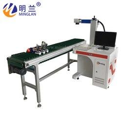 Maszyna do znakowania laserowego włókna maszyna do znakowania metalu maszyna do grawerowania laserem tabliczka znamionowa znakowania laserowego mach ze stali nierdzewnej