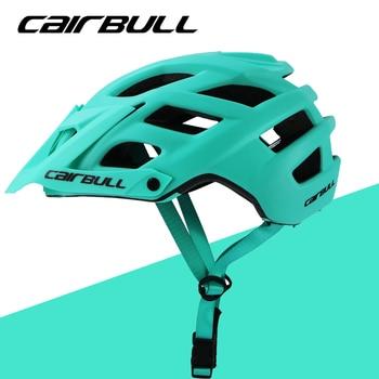 Cairbull ciclismo capacete trilha xc bicicleta capacete in-mold mtb bicicleta capacete casco ciclismo estrada montanha capacetes de segurança boné 55-61cm 1