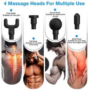 Тканевый массажный пистолет, мышечный Массажер для расслабления тела, фитнеса, коррекции фигуры, машина после тренировки, облегчение боли с сумкой