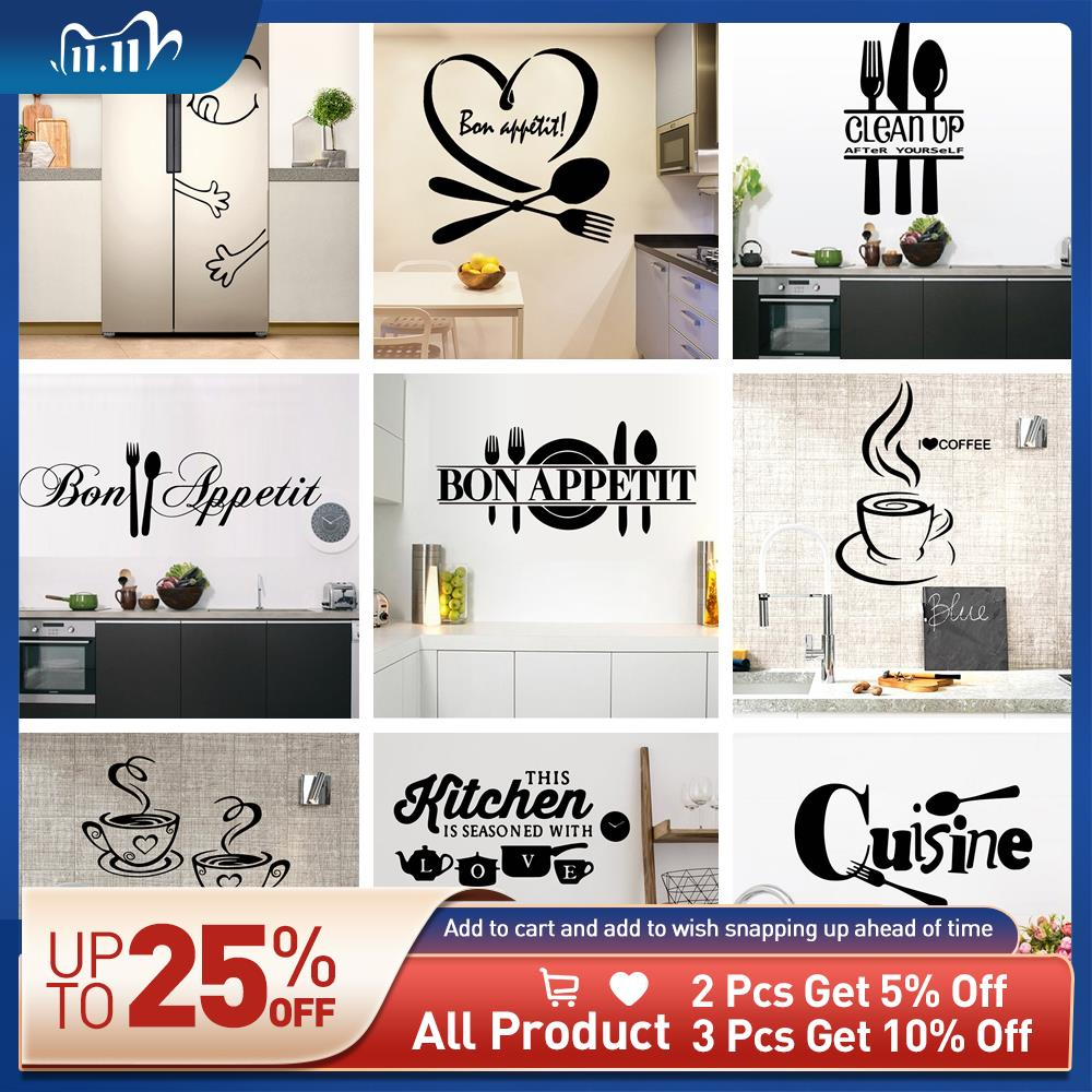 Top 8 Most Popular Large Wall Sticker Kitchen List And Get Free Shipping A295