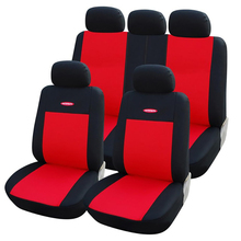 AUTOYOUTH  Car Seat Covers Universal Red
