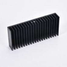 1 adet Alüminyum Soğutucu Isı Emici Radyatör Soğutma Fin DIY Soğutucu 184*84*30MM Amplifikatör ses