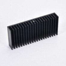 1 قطعة مبادل حراري من الألومنيوم بالوعة الحرارة المبرد زعانف تبريد لتقوم بها بنفسك برودة 184*84*30 مللي متر للصوت مكبر للصوت