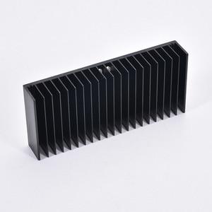 Image 1 - 1pcs Aluminum Heatsink Heat Sink Radiator Cooling Fin DIY Cooler 184*84*30MM for Amplifier audio