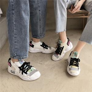 Image 2 - Scarpe per Gli Uomini Scarpe Da Ginnastica Casual Uomini Calzino Scarpa Amante Traspirante Tenis Masculino Adulto High Top Uomo scarpe Da Ginnastica Zapatos Hombre Sapatos