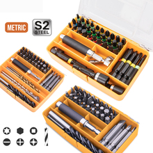 Multi Tools Kits Screwdriver Bit Set Slotted Phillips Torx Drill Bits For Metal Wood Plastic Appliances Repair Impact Driver