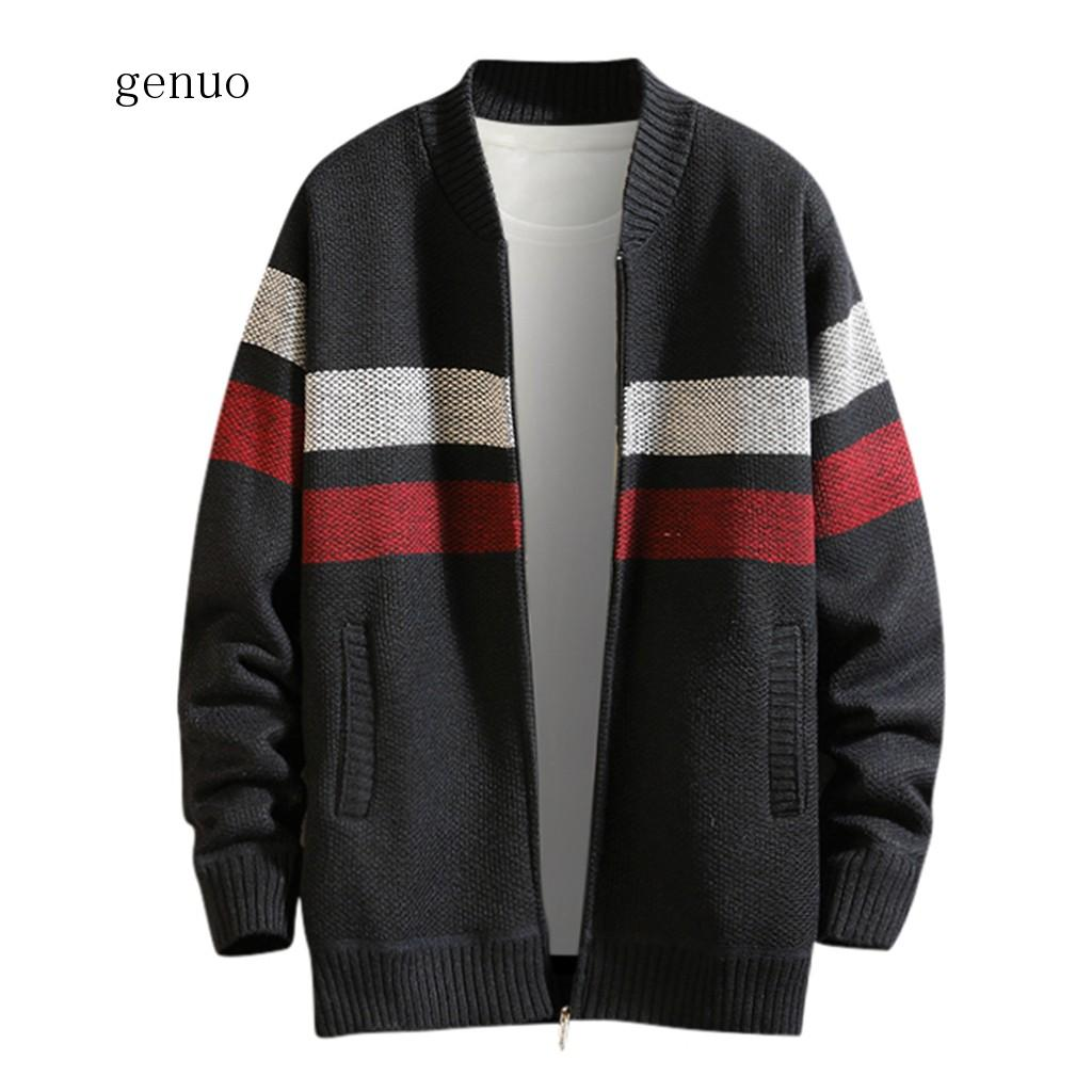 Men Jacket 2020 Men's Autumn Winter Casual Patchwork Turn-down Collar Jacket Coat,Men's Jackets