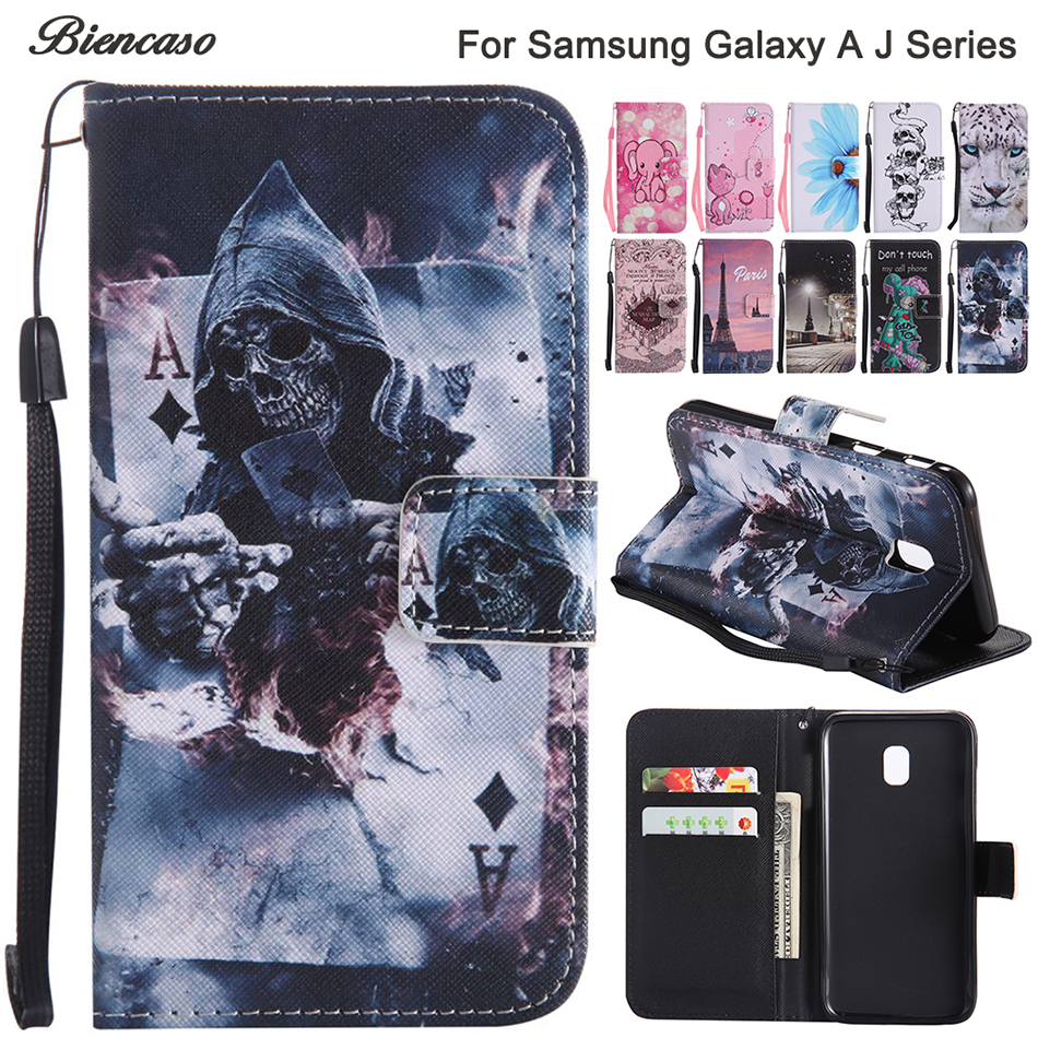 <font><b>Case</b></font> For <font><b>Samsung</b></font> <font><b>Galaxy</b></font> J330 J530 J730 A320 <font><b>A520</b></font> A3 <font><b>A5</b></font> J1 J3 J5 J7 2016 2017 Prime Note 8 S8 S9 S10E S10 Plus <font><b>Flip</b></font> Leather Cover image