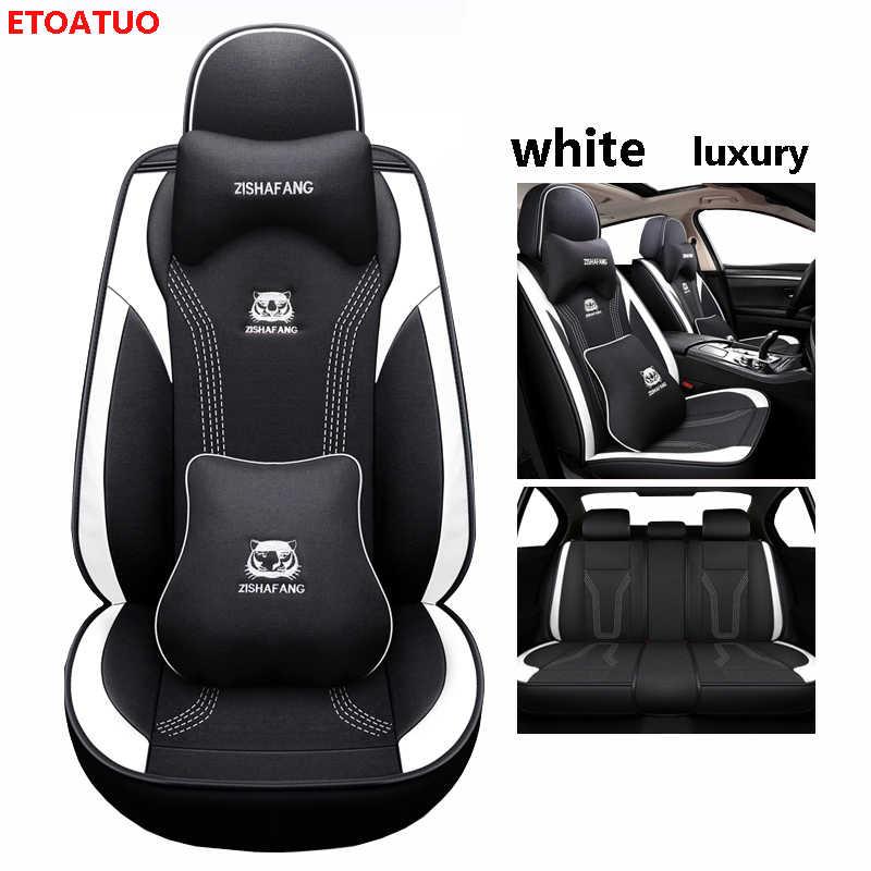 Etoatuo Universele Auto Stoelhoezen Voor Mazda Alle Modellen Mazda 3 Axela 2 5 6 8 Atenza CX-4 CX-7 CX-9 CX-3 MX-5 CX-5 Auto Styling