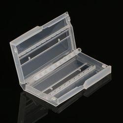 10 otworów wiertło do paznokci Case plastikowe puste schowek frezy Holder|Skrzynki na narzędz.|Narzędzia -