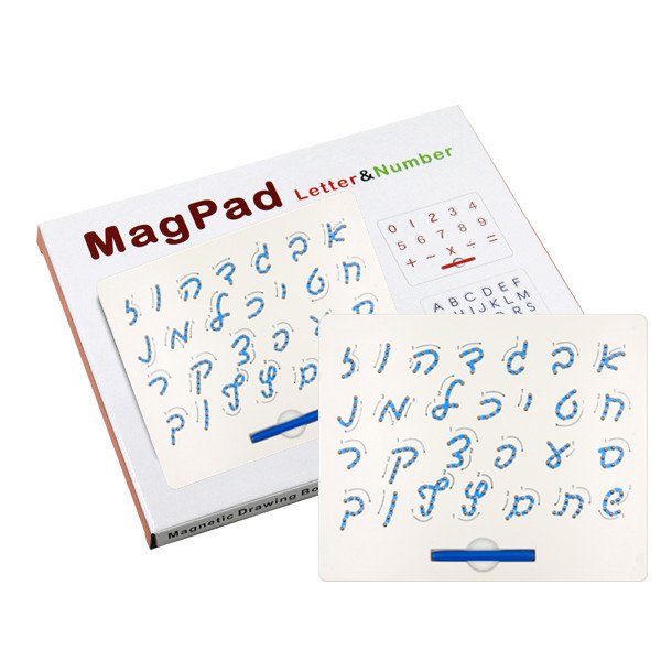 Foreign Trade Export Children Magnetic Drawing Board CHILDREN'S Toy Wholesale Colorful Box Packaging Hebrew
