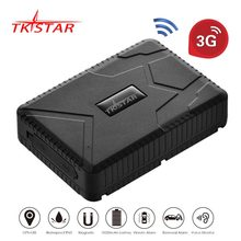 3G WCDMA TKSTAR TK915 waterproof IP 66 vehicle GPS Tracker truck 120 days long standby time magnet tk905 free platform