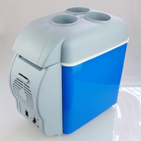 12 V 7.5L car mini portable refrigerator multi function dual use refrigerator hot and cold dual use car refrigerator