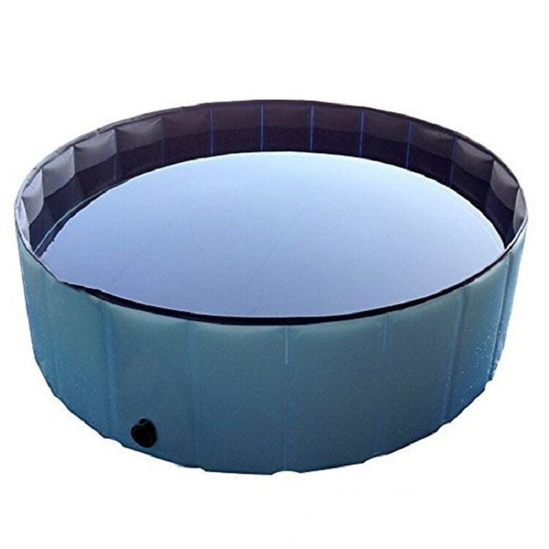 Factory Export Inflatable Environmentally Friendly Animal Swimming Pool, Thick Reinforced Inflatable Pet Bath Pool Price Wholesa