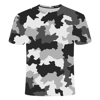 Boys Girls Red Gray Green Camouflage Clothing 3d Printed Tshirt Men Women Short Sleeve Tee shirt Brand Top T Funny Tees - discount item  55% OFF Tops & Tees