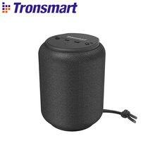 Tronsmart-Minialtavoz bluetooth T6, original reproductor de música portátil con sonido estéreo envolvente 360, asistente de voz, TWS, inalámbrico