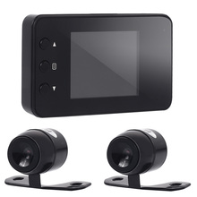 Vehemo 720P Dual Recorder Motorcycle Camera Dvr Stable Dash Cam Parking Monitor