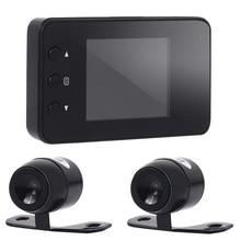 Vehemo 720P Dual Recorder Motorcycle Camera Dvr Stable Dash