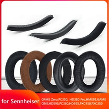 Replacement Ear Pads for Sennheiser G4ME Zero GAME ONE PC350 HD380 Pro HME95 PXC350 Headphone Headband Cushion EarPads