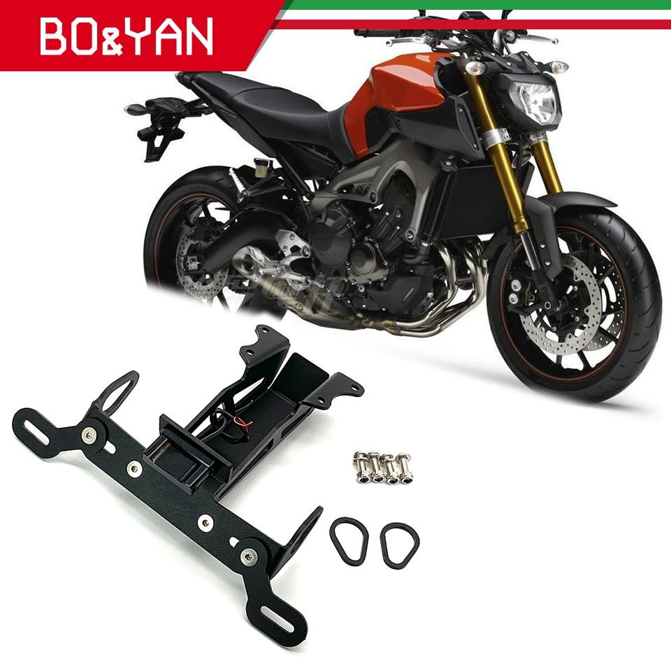 License Plate Bracket For Yamaha MT-09 FZ-09 2014-2018 FJ09 Tracer 900 2015-2018
