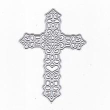 Religion Cross Metal Cutting Dies Stencils DIY for Scrapbooking Paper Card Craft Embossing Die Cut