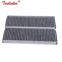 Cabin Filter OEM 4F0819439A For Audi R8 Spyder 4.2 5.2 FSI quattro 2008 2015 Model 2 Pcs Built in Carbon Air Conditioner Filter