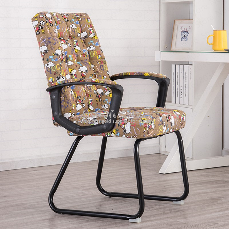 21%Computer Chair Home Lazy Office Chair Staff Conference Student Dormitory Chair Modern Simple Backrest Chair