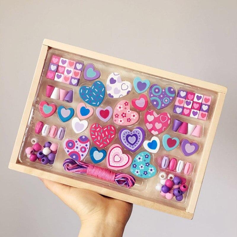 2020 nouveau bricolage Montessori en bois jouet main cerveau formation perle Classification jeu infantile début enfants jouets éducatifs cadeau