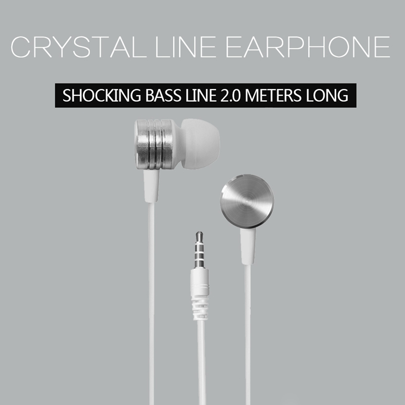 ABKK-3.5mm In-ear Stereo Earbuds Headphone Earphone Headset for Mobile
