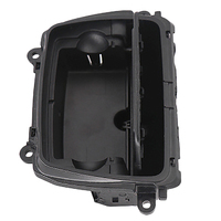 Yeni siyah plastik merkezi konsol küllük montaj kutusu Fit Bmw 5 serisi için F10 F11 F18 51169206347|Araba Küllüğü|   -