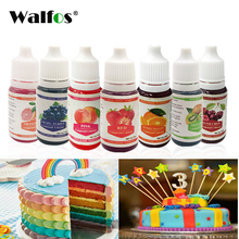 WALFOS Edible Pigment 10ML Macaron Cream Food Coloring Ingredients Cake Fondant Baking Color &Pastry