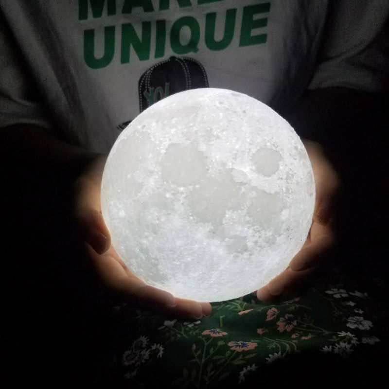 The Original 3D Moon Lamp 1