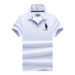 Men clothing fashion slim fit tops Summer polo shirt for men short sleeve classic polos shirts casual men 95% cotton polo shirt