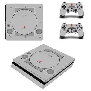 Image 5 - لون أبيض نقي غطاء كامل PS4 ملصقات ضئيلة بلاي ستيشن 4 ملصق الجلد PlayStation ستيشن 4 PS4 سليم وحدة التحكم و تحكم جلود